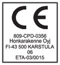 Honka_CE-merkki