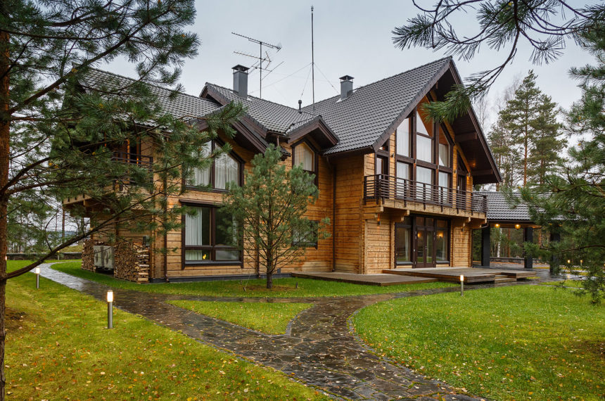 Exclusive elegance and spaciousness in a peaceful setting. Honka Melody, Russia.